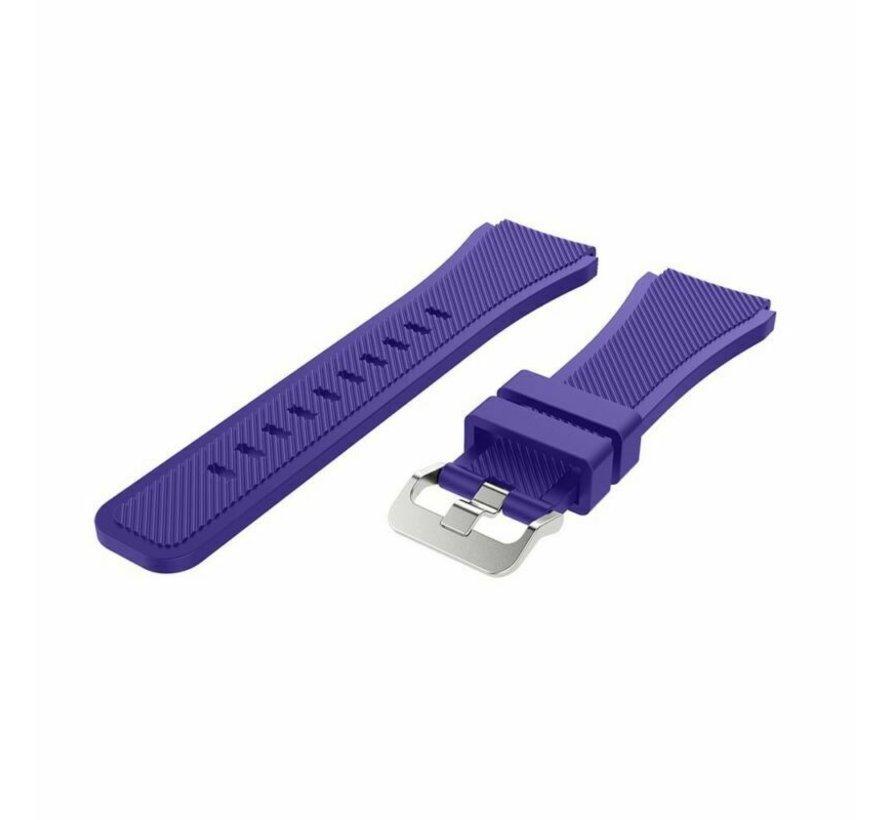 Strap-it® Garmin Vivoactive 3 siliconen bandje (paars)