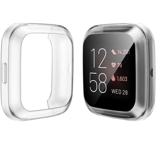 Strap-it® Strap-it® Fitbit Versa 2 TPU beschermhoes (transparant)