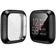 Strap-it® Fitbit Versa 2 TPU beschermhoes (zwart)