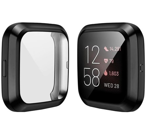 Strap-it® Strap-it® Fitbit Versa 2 TPU beschermhoes (zwart)