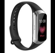 Strap-it® Samsung Galaxy Fit siliconen bandje (zwart)