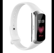 Strap-it® Samsung Galaxy Fit siliconen bandje (wit)