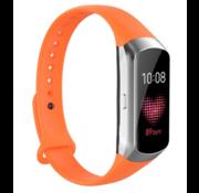 Strap-it® Samsung Galaxy Fit siliconen bandje (oranje)