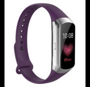 Strap-it® Samsung Galaxy Fit siliconen bandje (paars)