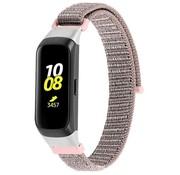 Strap-it® Samsung Galaxy Fit nylon bandje (roze)