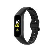 Strap-it® Samsung Galaxy Fit 2 siliconen bandje (zwart)