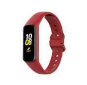 Strap-it® Samsung Galaxy Fit 2 siliconen bandje (rood)