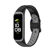 Strap-it® Samsung Galaxy Fit 2 sport bandje (zwart/grijs)