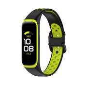 Strap-it® Samsung Galaxy Fit 2 sport bandje (zwart/geel)