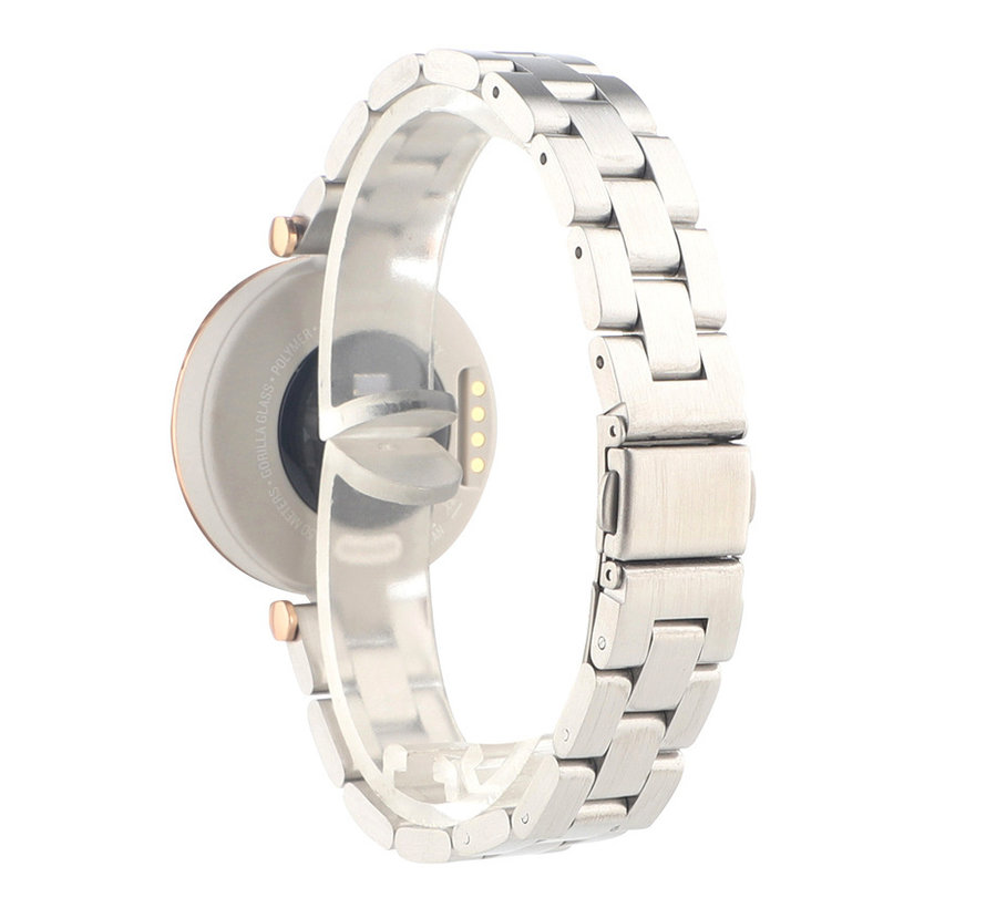 Strap-it® Garmin Lily stalen band (zilver)