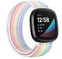Strap-it® Fitbit Sense nylon bandje (kleurrijk)