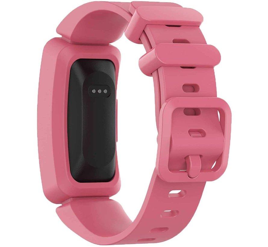 Strap-it® Fitbit Ace 2 siliconen bandje (watermeloen)
