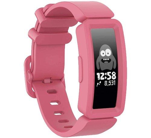 Strap-it® Strap-it® Fitbit Ace 2 siliconen bandje (watermeloen)