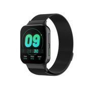 Strap-it® Oppo Watch Milanese band (zwart)