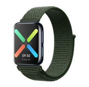 Strap-it® Oppo Watch nylon band (groen)