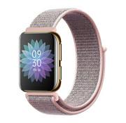 Strap-it® Oppo Watch nylon band (roze)