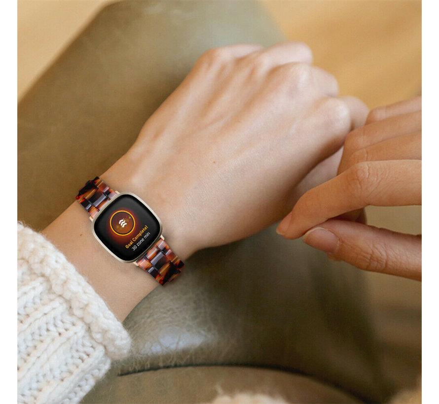 Strap-it® Fitbit Sense resin band (lava)