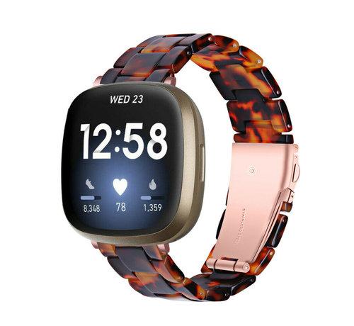 Strap-it® Strap-it® Fitbit Sense resin band (lava)