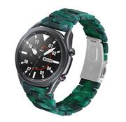 Strap-it® Samsung Galaxy Watch 3 45mm resin band (groen)