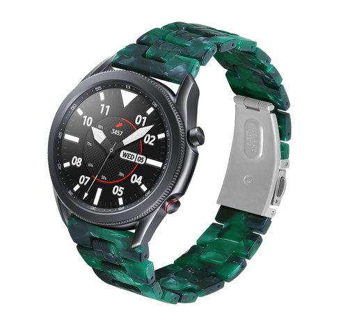 Strap-it® Strap-it® Samsung Galaxy Watch 3 45mm resin band (groen)