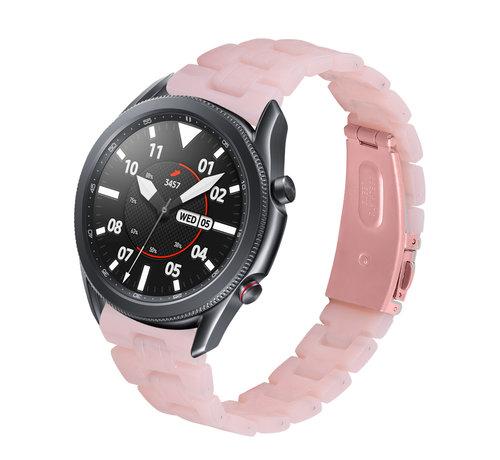Strap-it® Strap-it® Samsung Galaxy Watch 3 45mm resin band (roze)