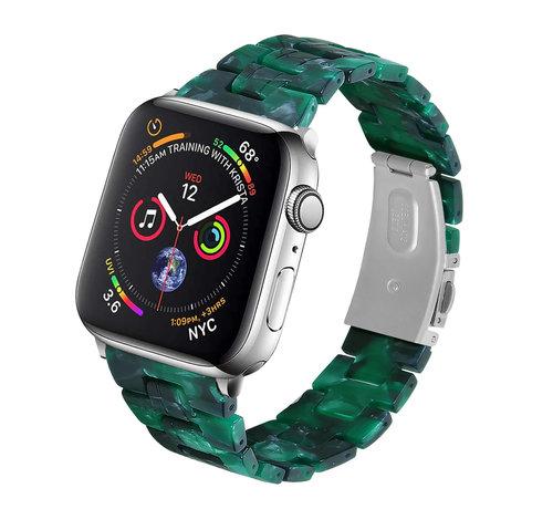 Strap-it® Strap-it® Apple Watch stalen band (groen)