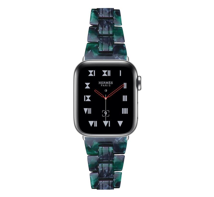 Strap-it® Apple Watch stalen band (groen)