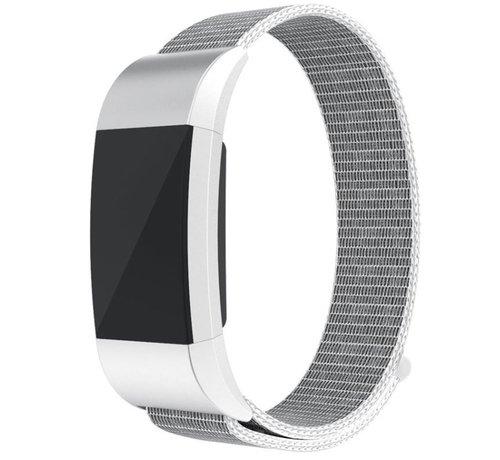 Strap-it® Strap-it® Fitbit Charge 2 nylon bandje (zeeschelp)