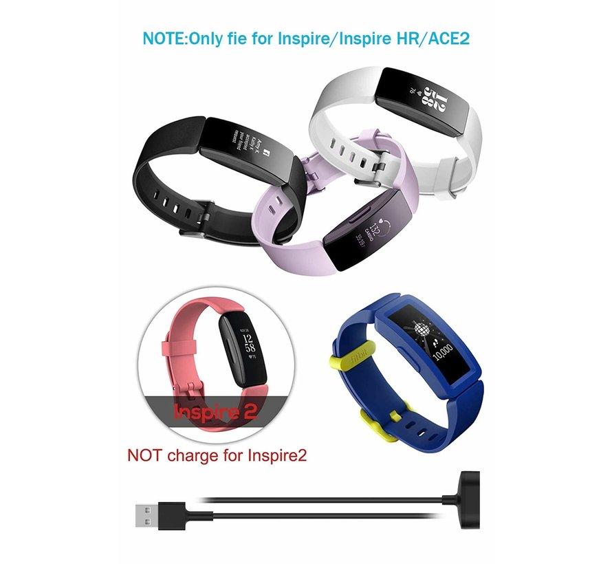 Strap-it® Fitbit Ace 2 oplader / oplaadkabel USB