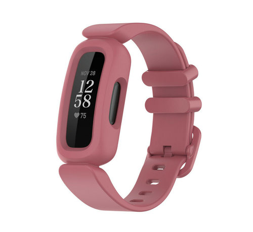 Strap-it® Strap-it® Fitbit Ace 3 siliconen bandje (watermeloen)