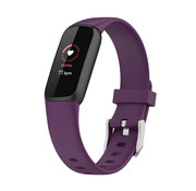 Strap-it® Fitbit Luxe siliconen bandje (paars)