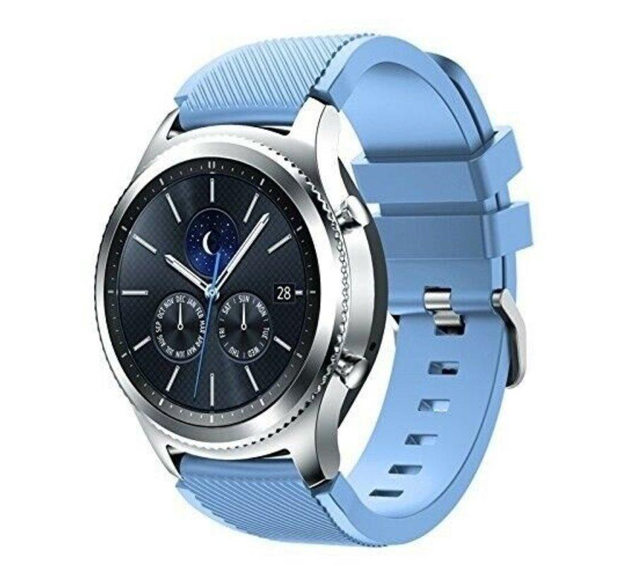 Strap-it® Samsung Gear S3 silicone band (zand blauw)