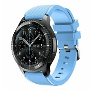 Strap-it® Samsung Galaxy Watch 46mm siliconen bandje (zand blauw)