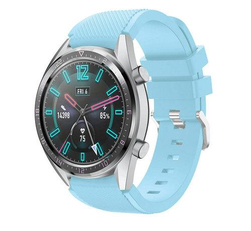 Strap-it® Strap-it® Huawei Watch GT siliconen bandje (zandblauw)