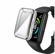 Strap-it® Huawei Band 6 TPU beschermhoes (transparant)