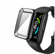 Strap-it® Huawei Band 6 TPU beschermhoes (zwart)