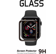 Strap-it® Apple Watch glazen Screenprotector - 44mm