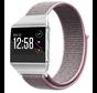 Strap-it® Fitbit Ionic nylon bandje (pink sand)
