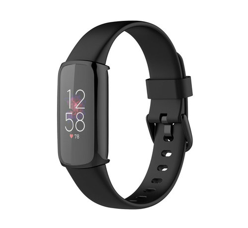 Strap-it® Strap-it® Fitbit Luxe TPU beschermhoes (zwart)