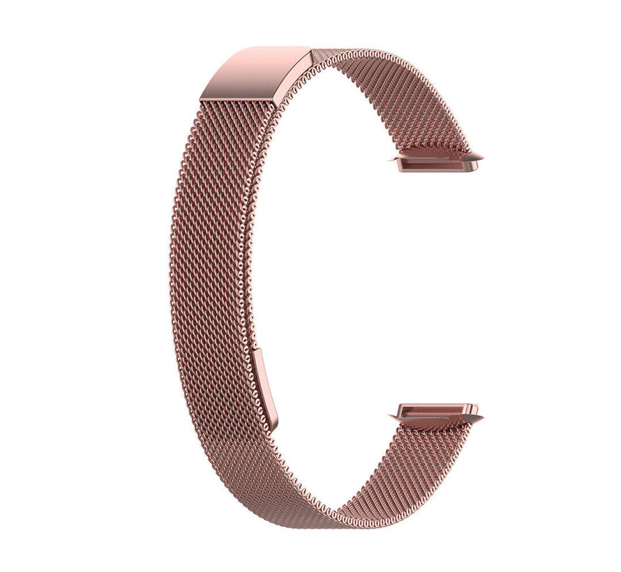 Strap-it® Fitbit Luxe Milanese band (rosé pink)