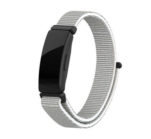 Strap-it® Strap-it® Fitbit Inspire nylon bandje (zeeschelp)