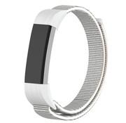 Strap-it® Fitbit Alta / Alta HR nylon bandje (zeeschelp)