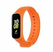 Strap-it® Samsung Galaxy Fit e siliconen bandje (oranje)