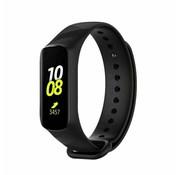 Strap-it® Samsung Galaxy Fit e siliconen bandje (zwart)