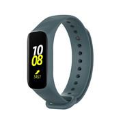 Strap-it® Samsung Galaxy Fit e siliconen bandje (grijsblauw)