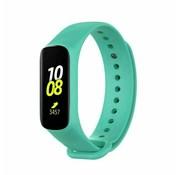 Strap-it® Samsung Galaxy Fit e siliconen bandje (aqua)