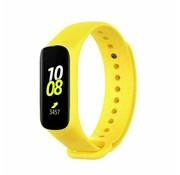 Strap-it® Samsung Galaxy Fit e siliconen bandje (geel)