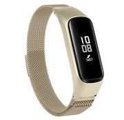 Strap-it® Samsung Galaxy Fit e Milanese band (champagne goud)