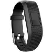 Strap-it® Garmin Vivofit Junior 1 / Junior 2 siliconen bandje (zwart)