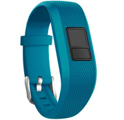 Strap-it® Garmin Vivofit Junior 1 / Junior 2 siliconen bandje (blauw)